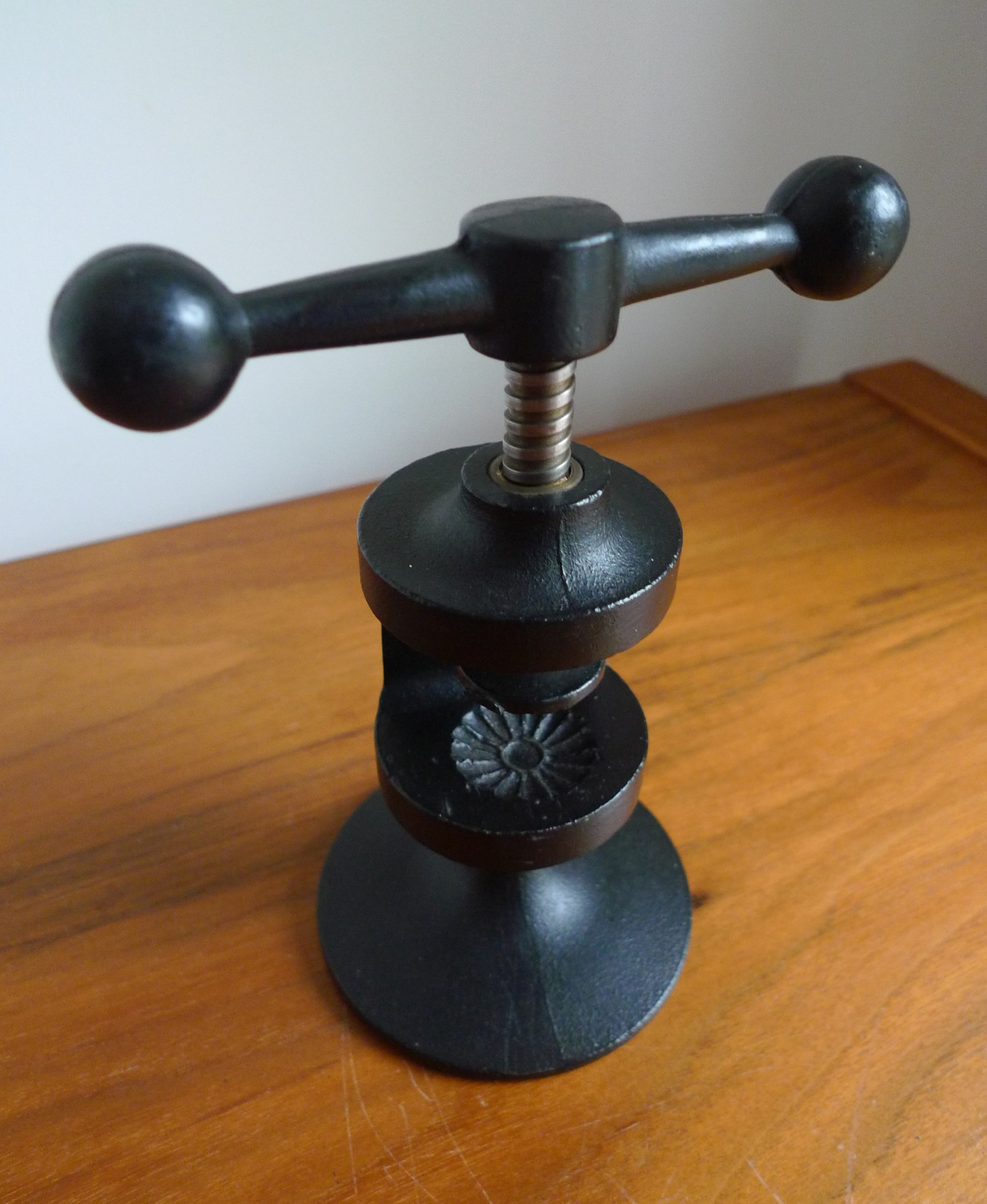 Cast iron nut cracker by robert welch place called space
